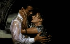 One of the best movie kisses of all time.// The Quiet Man - John Wayne, Maureen O'Hara