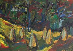 Hay sticks - Tetyana Snezhyk painting