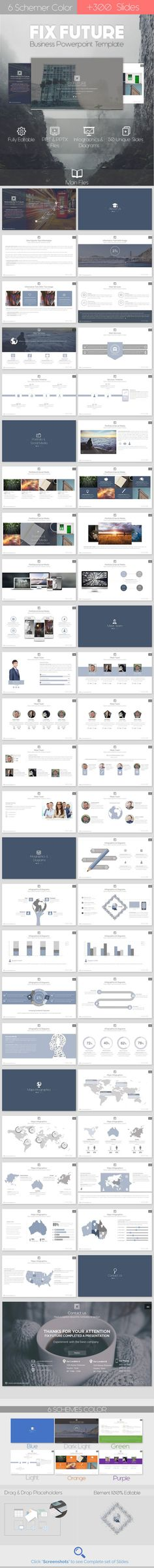 Fix #Future - Powerpoint #Template - #Business #PowerPoint Templates Download here: https://graphicriver.net/item/fix-future-powerpoint-template/11808001?ref=alena994