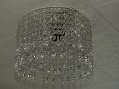 Crystal Chandelier {How to make it}