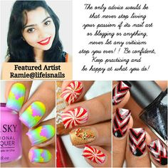 Style Those Nails: Featured Nail Artist Ramie @LifeisNails