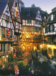 Winter and Christmas at Alsace, France