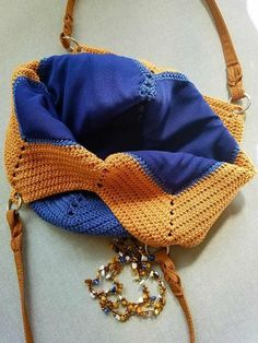 """New Cheap Bags. The location where building and construction meets style, beaded crochet is the act of using beads to decorate crocheted products. """"Crochet"""" is derived fro Crochet Beach Bags, Crotchet Bags, Crochet Market Bag, Crochet Tote, Crochet Handbags, Crochet Purses, Knitted Bags, Crochet Shell Stitch, Bead Crochet"""