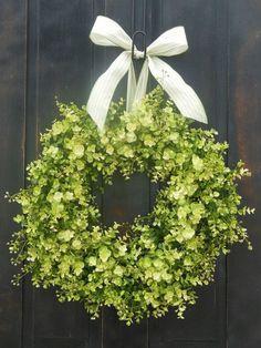 wreaths for front door | Boxwood wreath Front Door Wreaths Fern Wreaths ... | floral arrangeme ...