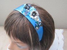 CLEARANCE Headband Designed With Vintage by LunasVintageDesigns, $20.00