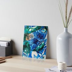 12 Days of Promos: Day 3. Save 25% on Art Boards with code DAYTHREE by @ANoelleJay @redbubble » Number 5 in the Environmental Tiny World Collection / 8in by 10in acrylic on canvas / Acrylic Painting group • Also buy this artwork on wall prints, apparel, stickers, and more.