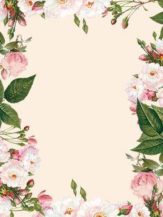 Frame Floral Fotografia Flor Background Frame Floral, Flower Frame, Gold Wallpaper Background, Background Images, Flower Backgrounds, Colorful Backgrounds, Maroon Nail Designs, Flower Graphic Design, Wedding Invitation Background
