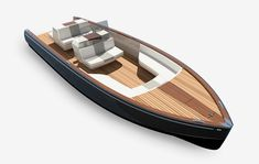 dubbed the dasher, the 28-foot yacht combines electric power, with lightweight composite structural components, and 3D printing.