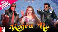 Kajra Re - Full Song | Bunty Aur Babli | Amitabh Bachchan | Abhishek Bachchan | Aishwarya Rai - YouTube