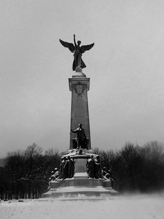 Mont Royal Park, Montreal, Quebec, Canada