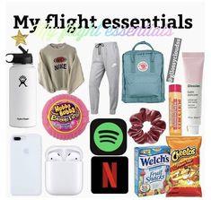 Airplane Essentials, Travel Bag Essentials, Travel Essentials For Women, Road Trip Essentials, Travel Necessities, Vsco Essentials, Holiday Essentials, Beach Essentials, Carry On Packing
