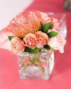 Resultado de imagem para decoração de casamento coral