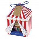 Meri Meri cirkustent cupcake doosjes 4 stks