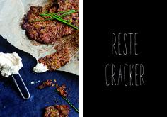 Juice Reste kann man auch in leckere Cracker verarbeiten. #easypeasy / Juice pulp turns cracker!