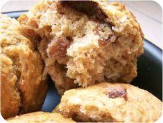 Muffins sans matière grasse et sans sucre ajouté