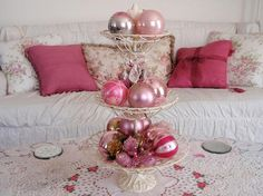 Dreaming Of A Pink Christmas - Christmas Decorating -
