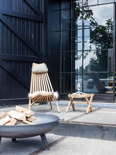 """EcoFurn - """"Lilli"""" Nordic Design 100% From Nature 
