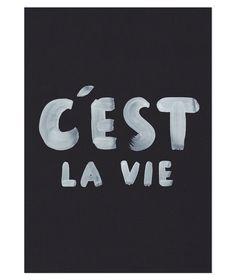 C'est La Vie Limited Edition Art Print by The Adventures Of