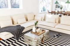 The Rug Pattern That Can Work Pretty Much Anywhere (And 10 Rooms That Prove It)