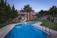 Myrtia Villa | Sleeps up to 7 | 3 Bedrooms | Xamoudochori, Platanias, Chania