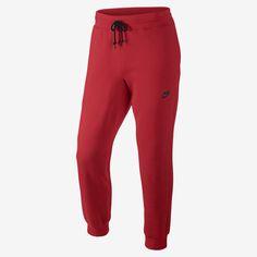 Nike AW77 Cuffed Fleece Men's Trousers. Nike Store PT