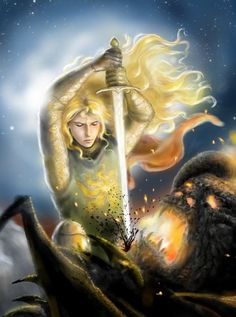 "Elves of Arda  — Tolkien: ""Then Glorfindel's left hand sought a..."