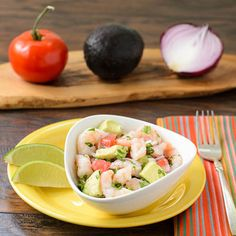 Shrimp and Avocado Ceviche | Magnolia Days