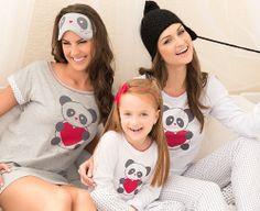 Pijamas e camisolas para toda a família!
