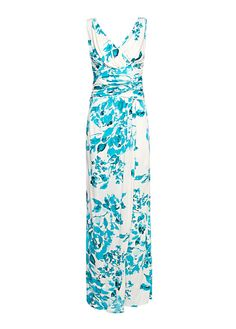 MANGO - Floral print gown  loveee this one !!!