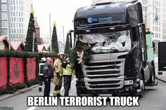 Will Angela Merkel blame Truck not Terrorist for Deaths in Berlin  TRUMP LAND