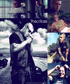 theo rossi childhood | Theo Rossi and as juice ortiz photos