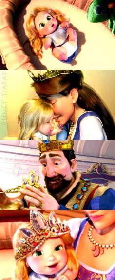 Baby Rapunzel!