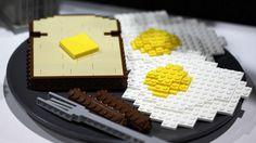 Lego for breakfast!
