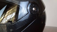 0c3dc2de ILM 115 Motorcycle Modular Flip up Dual Visor Helmet with Carbon Fiber  Pattern - YouTube Carbon
