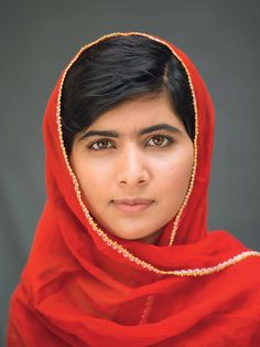 Malala Yousafzai - Stand up for what you believe in! Human rights for all!