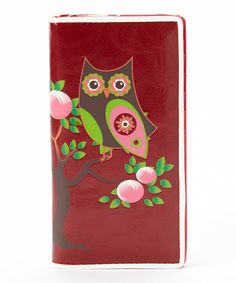 Another great find on #zulily! Sleepyville Critters Wine Owl Wallet by Sleepyville Critters #zulilyfinds