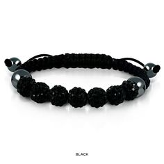 GOOD DEAL!  Save  92%     Austrian Crystal & Genuine Leather Stretch Bracelet - Assorted Colors