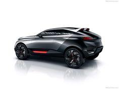 Peugeot Quartz Concept Side View