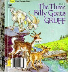 Vintage Children's Book - The Three Billy Goats Gruff