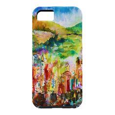 Ginette Fine Art Riomaggiore Italy Cell Phone Case | DENY Designs Home Accessories