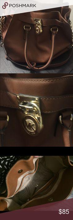 Michael Kors Hamilton Brown Bag Michael Kors Hamilton Brown Bag Michael Kors Bags Shoulder Bags