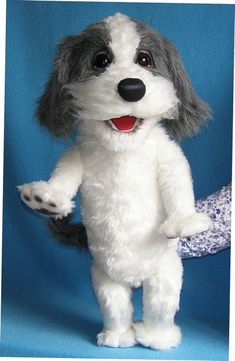 Bobby the Dog. Pavlovs puppet. (for sale)