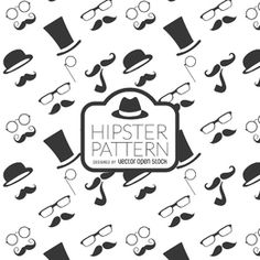 Hipster element background