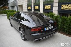 Audi Sportback 2015 in Frankfurt am Main, Germany Spotted on by Audi Sportback, Audi A7, S Car, Life Goals, Sport Cars, Luxury Cars, Cool Cars, Dream Cars