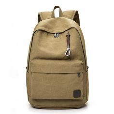 a29bc7070088 Unsex Canvas Backpacks Large School Bags For Teenager Boys and Girls Travel  Laptop Backbag Men s Backpack