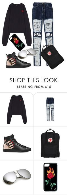 """City chic"" by gbs186 on Polyvore featuring Hood by Air, Gucci and Fjällräven"