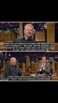 Jim Gaffigan on The Tonight Show with Jimmy Fallon. November 2014.