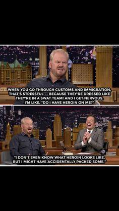 Jim Gaffigan on The Tonight Show with Jimmy Fallon. November 2014.