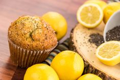 These flavorful whole wheat muffins are lightly sweet and nutty with a hint of lemon. Whole Wheat Muffins, Fun Test, Quiz Me, Fun Quizzes, Donuts, Cake Recipes, Lemon, Breakfast, Sweet