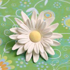 Double Petal Gum Paste Daisy